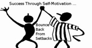 Thumbnail Success Through Self Motivation ... 101 Ways To Bounce Back